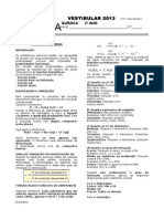 Vestibular 3° Ano - Funções Inorgânicas