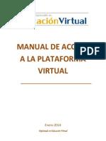 Manual de Acceso a La Plataforma Virtual