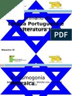 Trabalho de Português - A Cosmogonia Hebraica