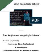 Etica e Deontologia profissional