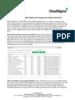CS White Paper - cloudsigma