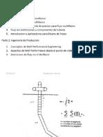 Indice de Productividad para un reservorio multifasico