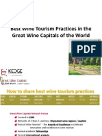 Best Wine Tourism Practices in the Great Wine Capitals of the World