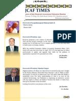 JCAF Newsletter Feb., 2015