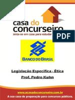 Apostila Legislação Específica (Ética) 2015 - Professor Pedro Kuhn