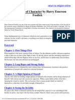 Fosdick, Harry Emerson - Twelve Tests of Character