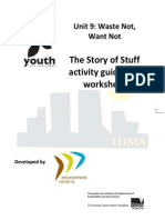 U9 Story of Stuff Activity Guide & Worksheet SP