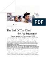 The End of the Clash by Joe Strummer