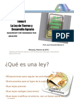 Tema 4 Ley de Tierras (Presentación 2015)