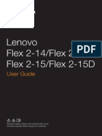 Download.lenovo.com Consumer Mobiles Pub Lenovo Flex 2 14 Flex 2 14d Flex 2 15 Flex 2 15d Ug English