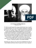 J.G. Bennett & Sheikh Daghestani