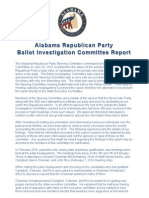 AL GOP BIC report