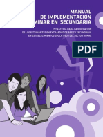 Modelos Educativos Flexibles Caminar en Secundaria Manual Implementacion