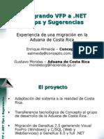 migrar VFP a asp.net
