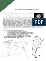 Evaluación de Geografía Básica Argentina