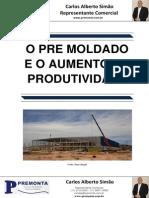 O Pre Moldado e o Aumento Da Produtividade