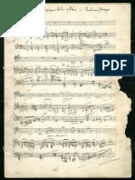 FPraeger Cavatina in E Major for Violin and Piano