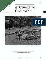 DBQ - Causes of the Civil War