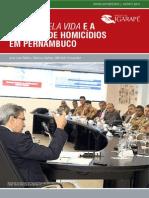 O Pacto pela Vida e a Redução de Homicídios em Pernambuco