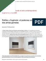 Rothko y Sugimoto_ El Poderoso Encuentro de Dos Almas Gemelas _ Jaque Al Arte
