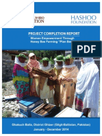 Empowering Women through Honey Bee Farming in Ghakuch Balla, District Ghizer Gilgit Baltistan Project Completion Report ( Jan - Dec 2014)