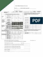 education audit sheet