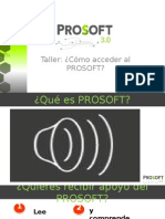 Taller-Cómo Acceder Al PROSOFT