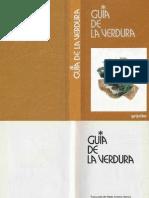 Agricultura Ecologica - Libro - Guia de La Verdura (Recetas) (Grijalbo 1995)