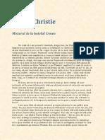 Agatha Christie - Misterul de La Hotel Crown