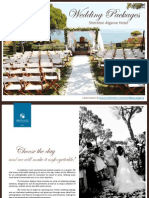 Wedding Packages Sheraton Algarve Hotel 2013 March