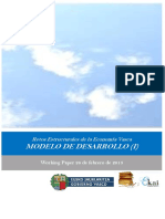 Retos Estructurales de la Economia Vasca. MODELO DE DESARROLLO (I)