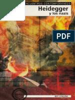 Heidegger y Los Nazis