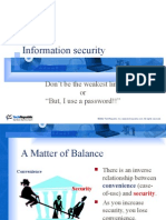 User Security presentation
