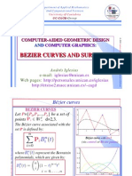 BEZIER CURVES AND SURFACES