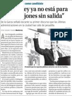 """28-02-2015 """"Monterrey ya no está para más callejones sin salida"""""""