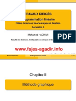 Td Chapitre 2 Méthode Graphique
