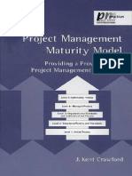 Project Management Maturity Model