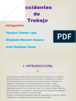 Diapositivas de Accidentes de Trabajo