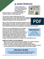 Jackie Robinson News