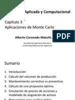 Aplicaciones de Monte Carlo
