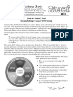 Newsletter, Mar 2015