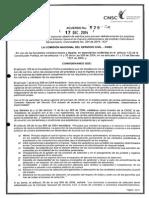 Acuerdo 529 de 2014