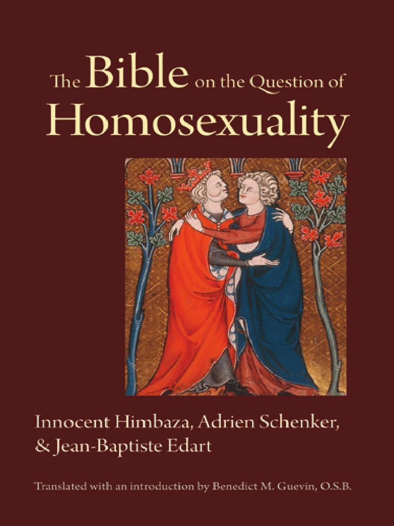Jacob milgrom homosexuality in christianity