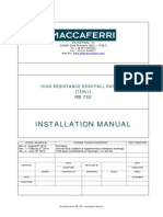 Installation Manual RB 750_rev.2