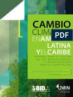 Cambio Climatico en America Latina y El Caribe