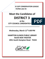 District 3 City Council Candidate Forum
