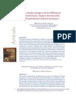 Garcia Aguilar - Los Fondos Antiguos De Las Bibliotecas Universitarias.PDF