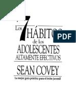 7 Hábitos. Sesión 1