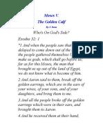 Moses v. the Golden Calf