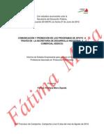 """Comunicaciã""""n y Promociã""""n de Los Programas de Apoyo a Traves de La Sedico (1)"""